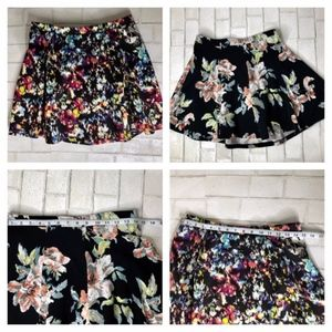 Lily Rose & Lush 2 Floral Skirts, Size: Large